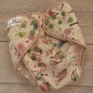 AI2 Cover za platnene pelene birds - kk fabrics and creations mamamarket.hr